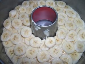 Банановый пирог в шоколадной глазури 4