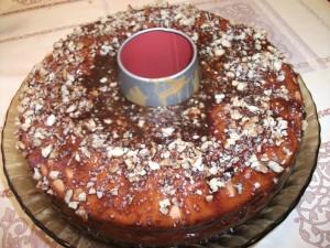 Банановый пирог в шоколадной глазури 5