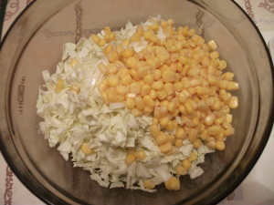 Капуста и кукуруза