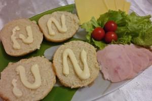 Сэндвич с ветчиной и сыром