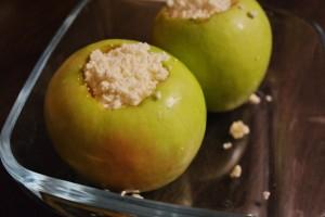 Яблоки запеченные с творогом 3